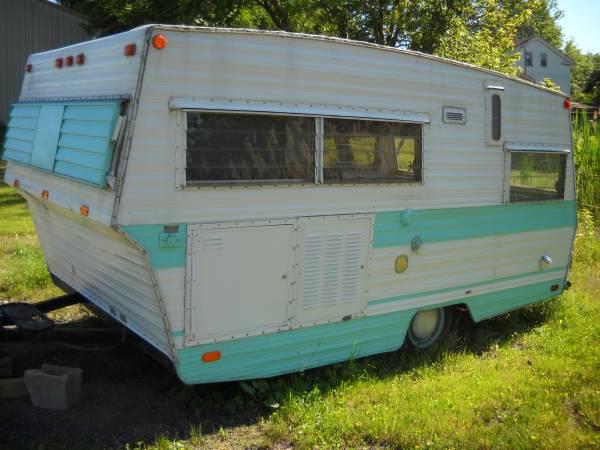 1970 Aristocrat Vintage Camper