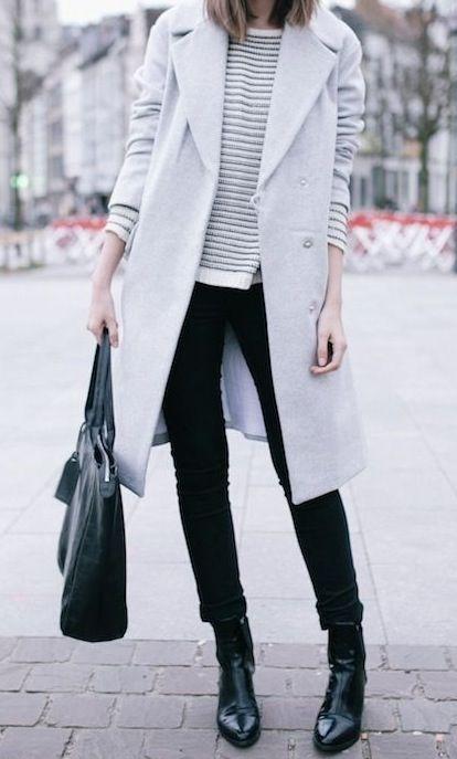 S in fashion avenue black white for winter for Fashion snobber