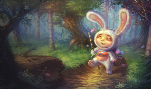 Skin Teemo Thỏ Phục Sinh