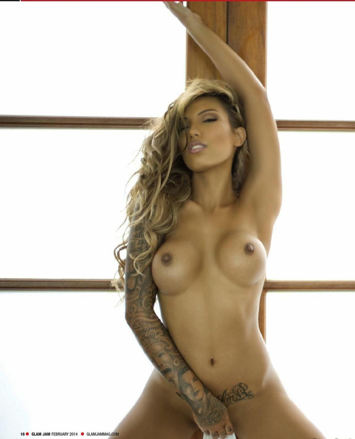 Leah van dale topless