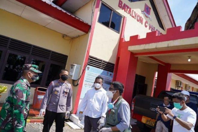 Waspadai Corona, 13 Lokasi di Bone Disemprot Disinfektan Relawan FTI UMI