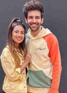 Aashna Hegde With Kartik Aryaan