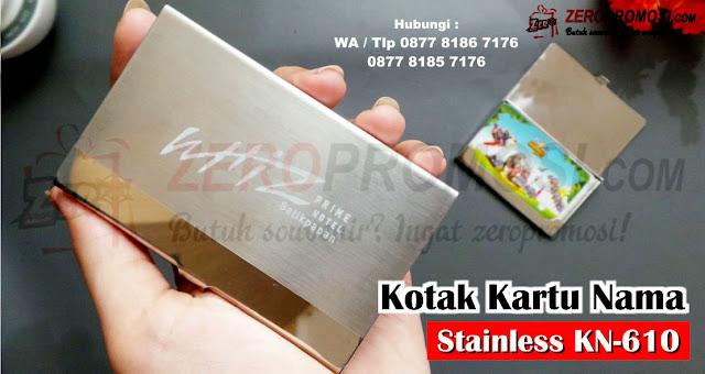 nama Card holder tempat kartu nama / NC 610, Jual Souvenir Kotak Kartu Nama - NC-610, Jual Kotak Kartu Nama Murah, Souvenir Kotak kartu nama untuk promosi kantor tipe KN-610