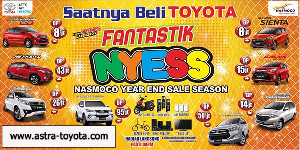 Toyota Semarang Promo Akhir Tahun 2016