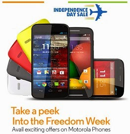 (Last Day) Buy Moto-G (8GB) for Rs.9449 and Moto-G (16GB) for Rs.10799 and Moto-X for Rs.21599 Only (Valid till 18th Aug'14 for SBI Credit / Debit Card)
