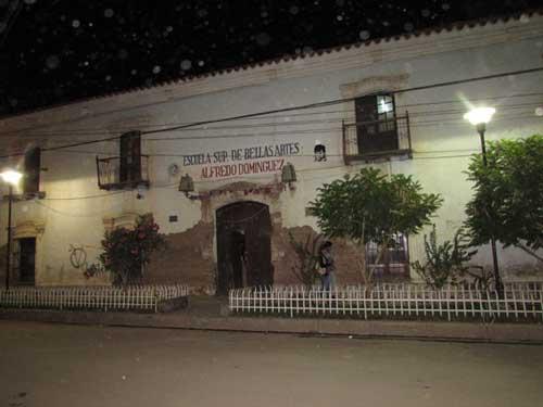 Buscan salvar Escuela de Bellas Artes de Tupiza