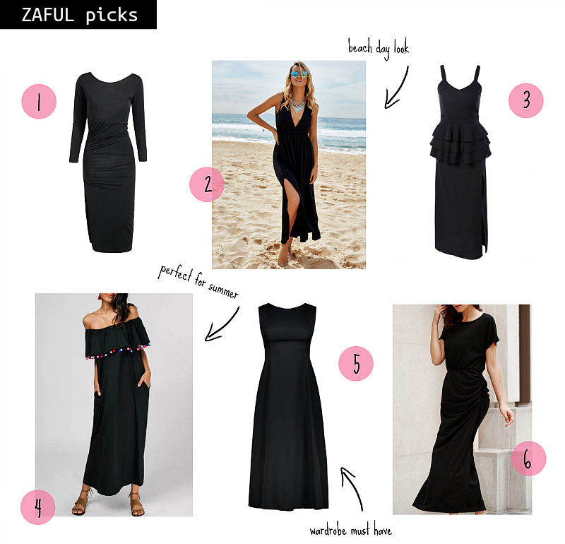 ZAFUL_black maxi dress_agladdiary blog