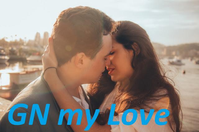 Good night Kiss image with love