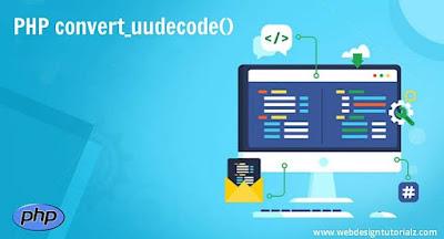 PHP convert_uudecode() Function