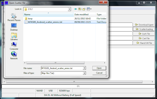 Cara Flash Bootloop Smartfren Andromax V (ZTE N986)