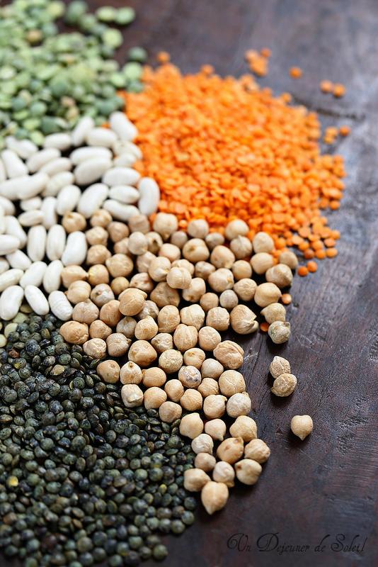 Quatre astuces de cuisson des légumineuses : lentilles, pois chiches, haricots, pois cassés, fèves...
