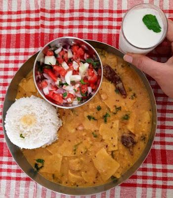 Gujarati Style Dal Dhokli