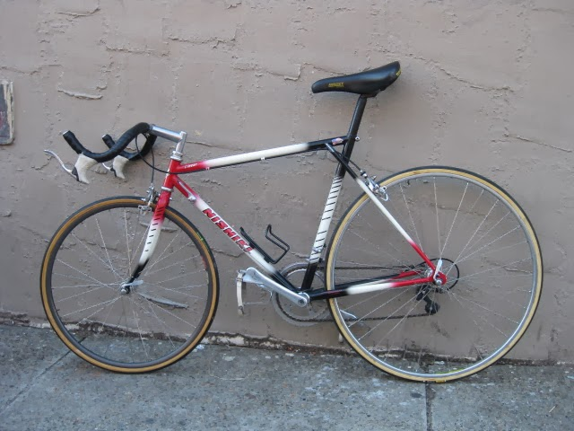 Bikeville thoughts: For Sale: Nishiki Linear Pursuit / time