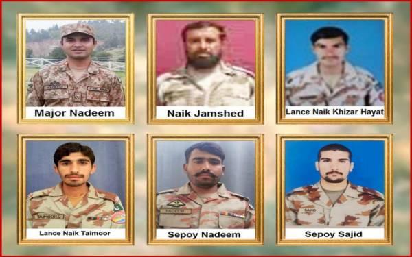 بلوچستان میں پاک فوج پر بڑا حملہ، ایک افسر سمیت 6 جوان شہید
