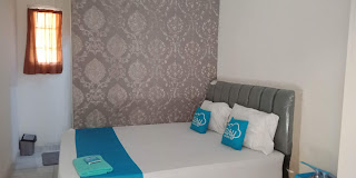 review penginapan murah di cibinong, penginapan murah dengan aplikasi airy rooms, menginap murah serasa hotel dengan airy rooms