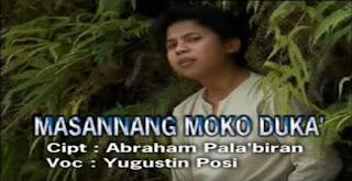 Lirik Lagu Masannang Moko Duka' (Yugustin Posi) Trio Pandin