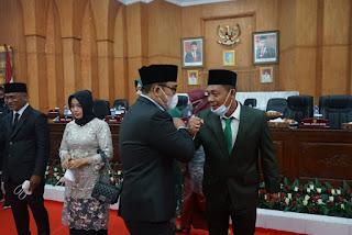 Wakil Bupati Hadiri Pelantikan Dua Orang PAW Anggota DPRD Batu Bara Periode 2019 - 2024