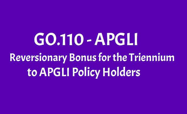 APGLI Reversionary Bonus