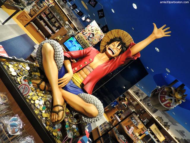 Monkey D. Luffy de One Piece