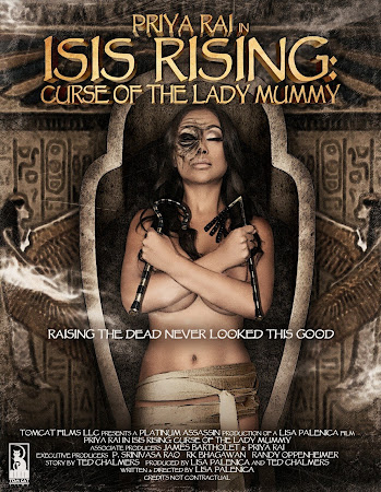 Poster Of Isis Rising: Curse of the Lady Mummy 2013 In Hindi Bluray 720P Free Download