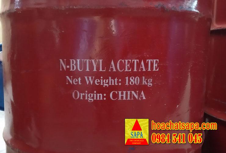 Dung Môi BAC - Butyl Acetate Dùng Trong Ngành Sơn, Tẩy Rửa