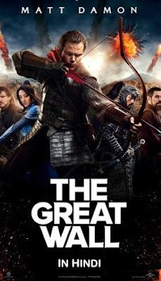 The Great Wall (2016) Hindi