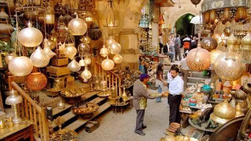 Khan El Khalili Bazaar cheria halal holiday
