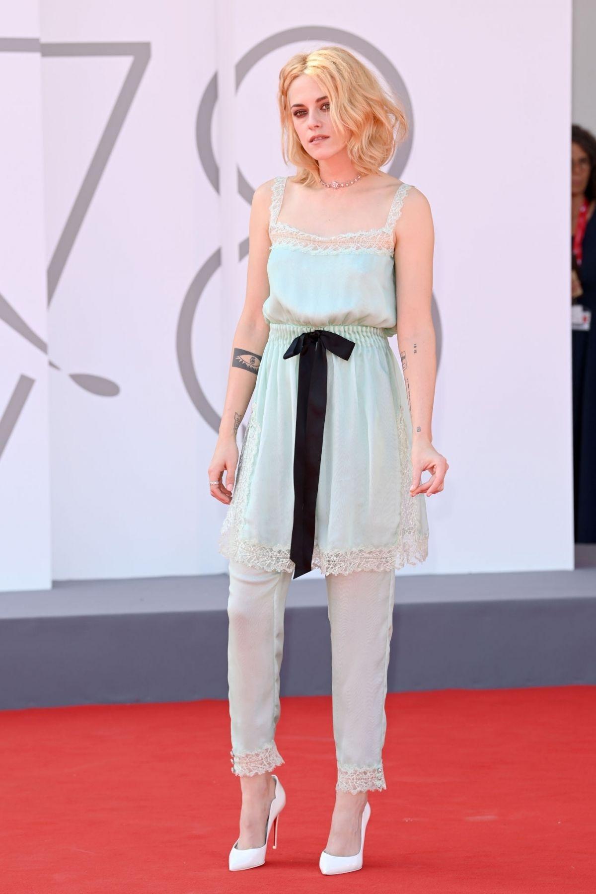 KRISTEN STEWART at Spencer Premiere at 2021 Venice Film Festival