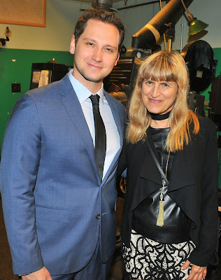 Actor and activist, Matt McGorry (How to Get Away With Murder, Orange is the New Black), and director Catherine Hardwicke (Twilight, Lords of Dogtown) at Catalina Film Festival