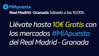 william hill liga Real Madrid vs Granada 5-10-2019