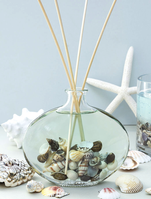 Coastal Beach Shells Room Diffuser