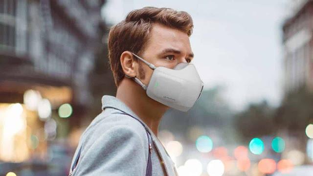 LG anuncia máscara purificadora de ar