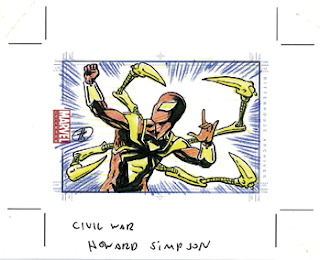 Spider-Man sketch card