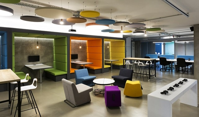 how to make office look creative workspace design workplace productivity