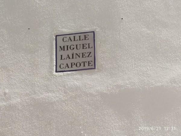 El Imaginero Miguel Laínez ya cuenta con una calle