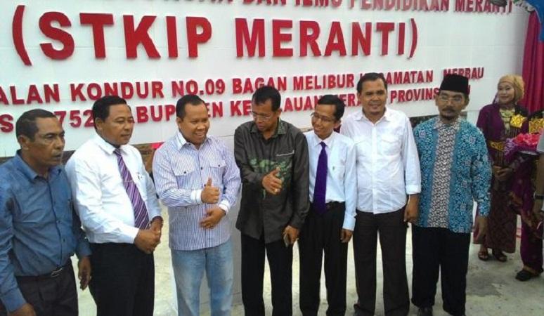 PENERIMAAN MAHASISWA BARU (STKIP MERANTI) 2018-2019 SEKOLAH TINGGI KEGURUAN ILMU PENDIDIKAN MERANTI