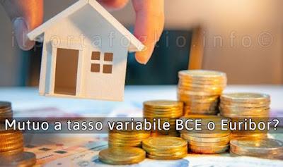 mutui a tasso variabile euribor o bce