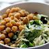 Salade d'orzo au citron et pois chiches rôtis