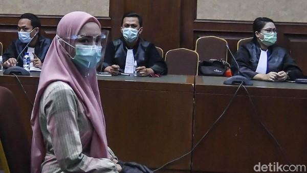 Hakim Cecar Pinangki soal Inisial Nama di Action Plan: IR, AK, BR, HA Siapa?