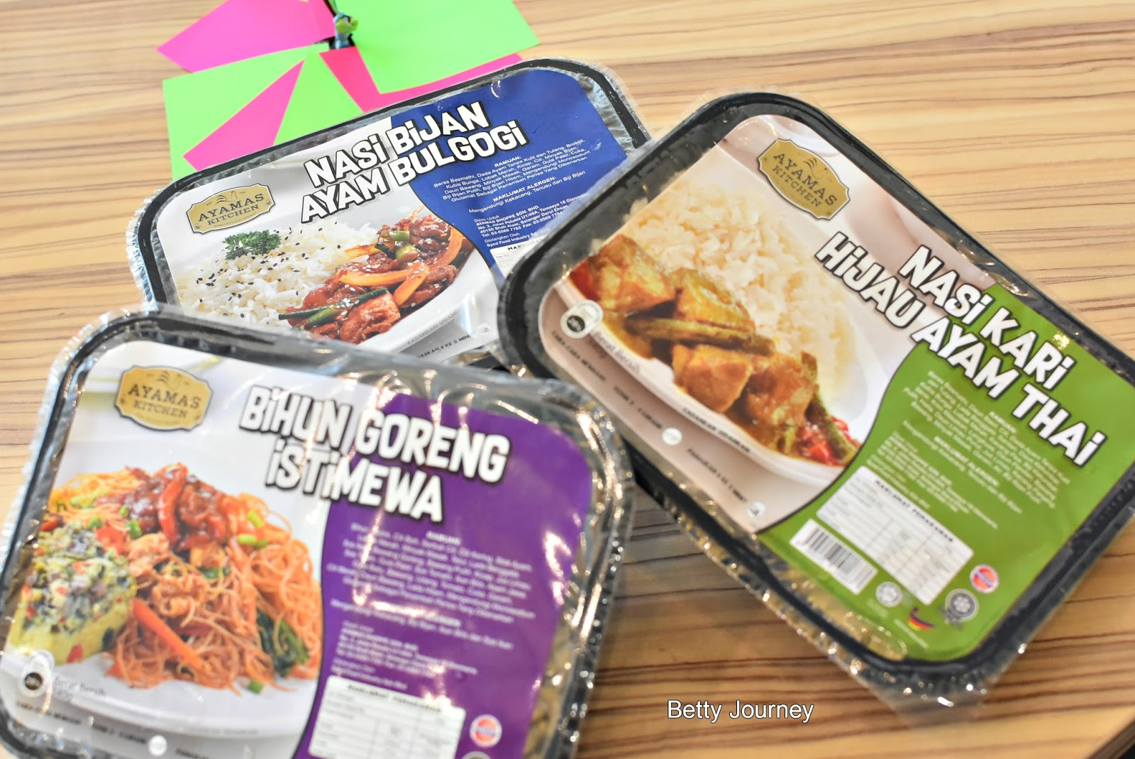 AYAMAS KITCHEN LAUNCHED THREE NEW FLAVOURS OF THEIR READY-TO-EAT RANGE - Betty's Journey