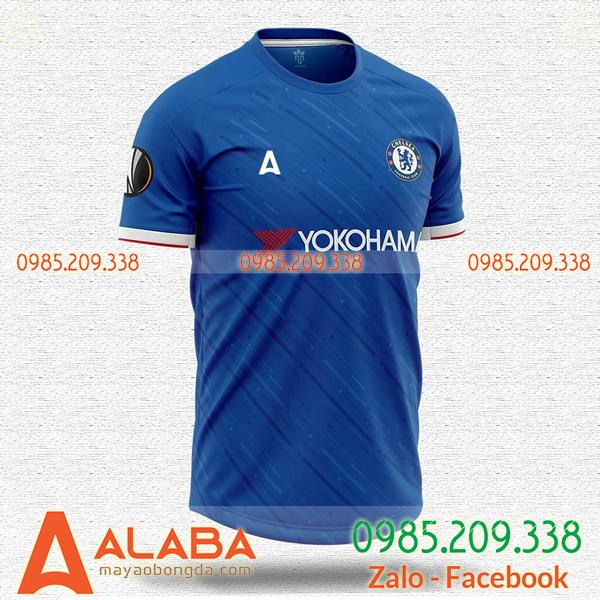 Quần áo bóng đá đặt may chất lượng mã ALB 125