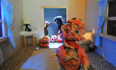 Monster Zombie Claymation (by Trent Shy)
