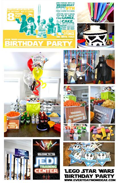Lego Star Wars Birthday Party Games 115