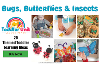 toddler lesson plans- bugs, butterflies and insects