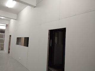 Partition gypsum board pejabat