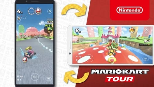 Nintendo has officially announced its support for the horizontal position in Mario Kart Tour