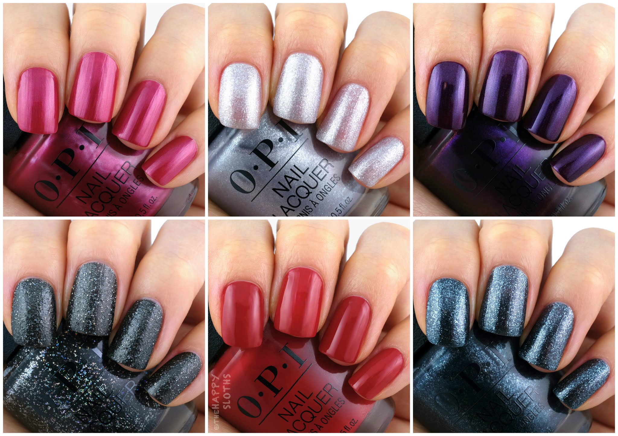 OPI | Holiday 2020 Shine Bright Collection: Review and Swatches