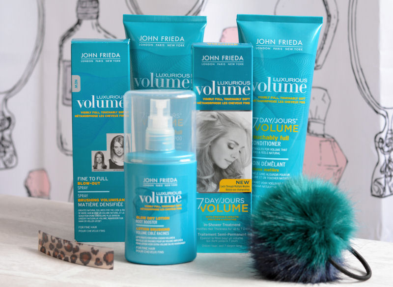 John Frieda Luxurious Volume Competition