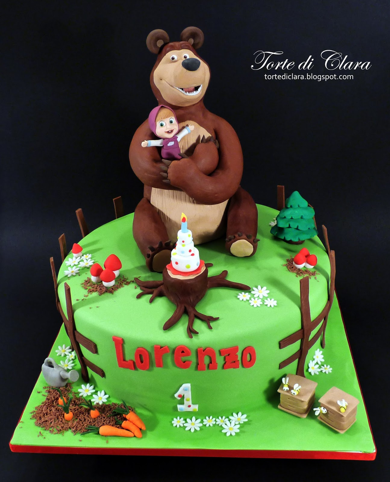 masha and the bear cake torte di clara masha and the cake 6 5728