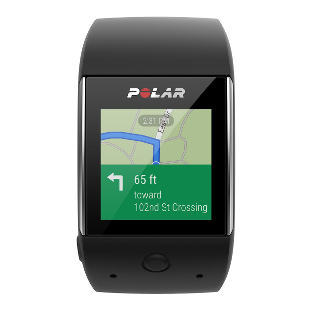 In-built GPS Polar M600